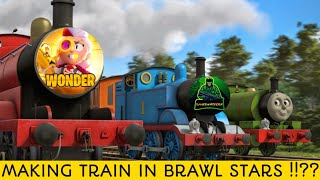 Making TRAIN in Brawl Stars Friendly MATCH !!??