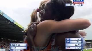 200 м финал А Женщины - командный чемпионата Европы