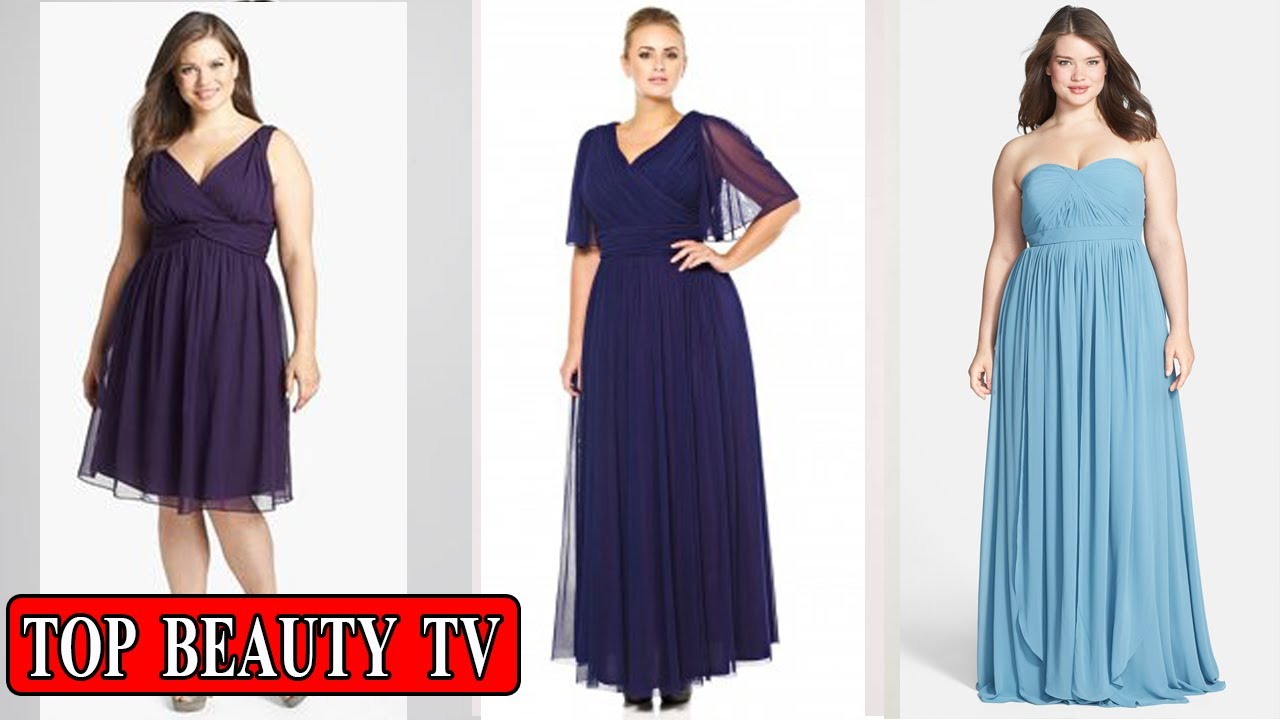Top Plus Size Bridesmaid Dresses, Elegant Plus Size