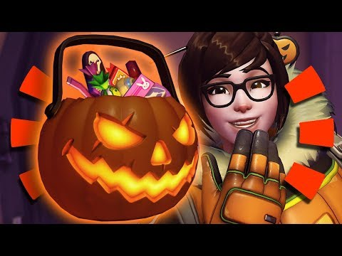The Fastest 61 Lootbox Overwatch Opening Your Brain Can Process [halloween Terror 2018]