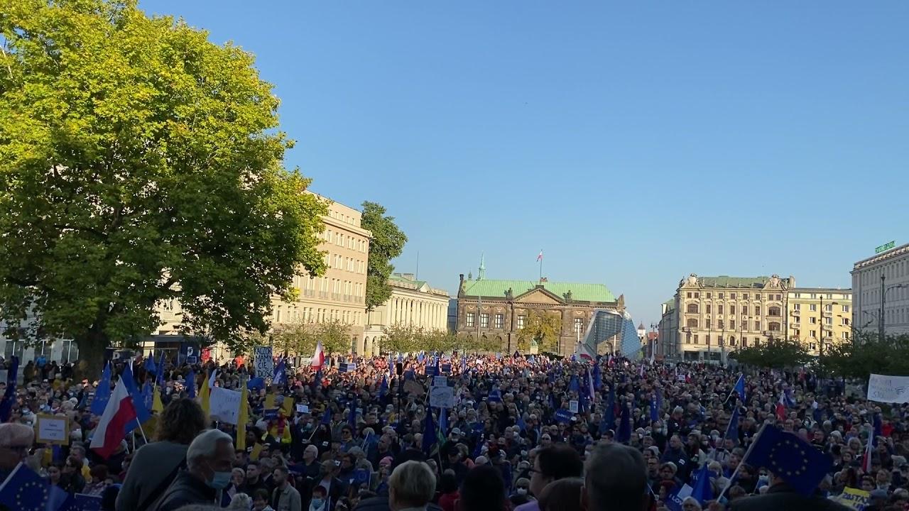 Demonstracja za Unią