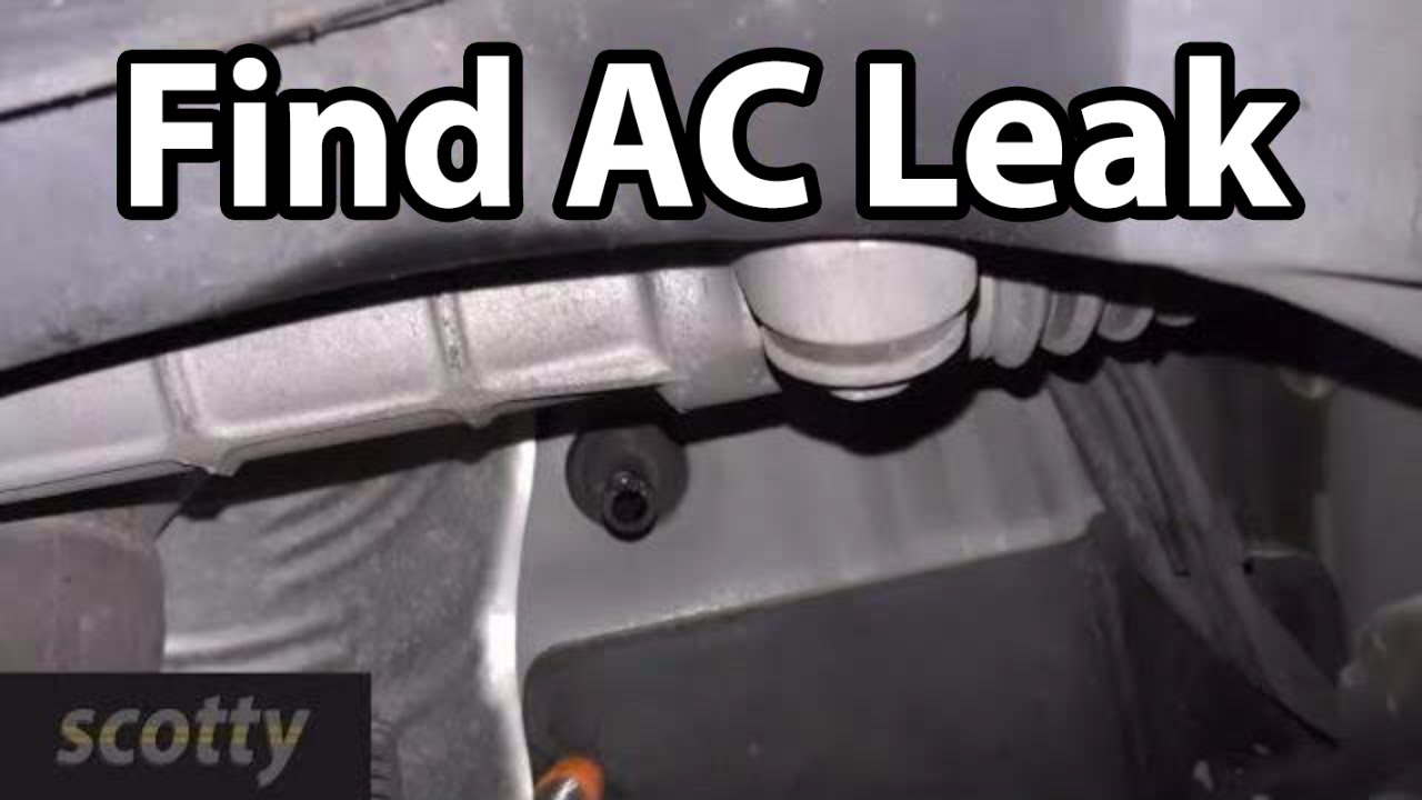 How To Quickly Find Car AC Leaks  YouTube