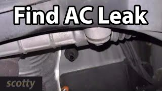 How To Quickly Find Car AC Leaks
