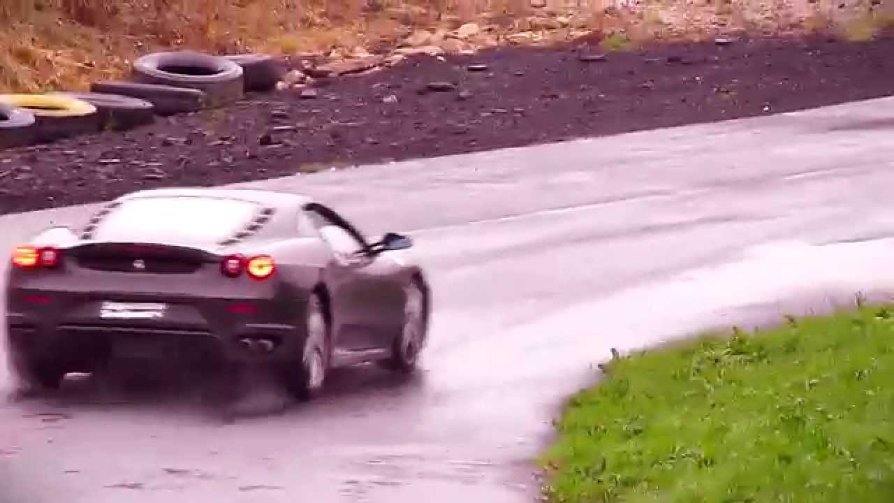 Supercars At Lochgelly Driftland Youtube