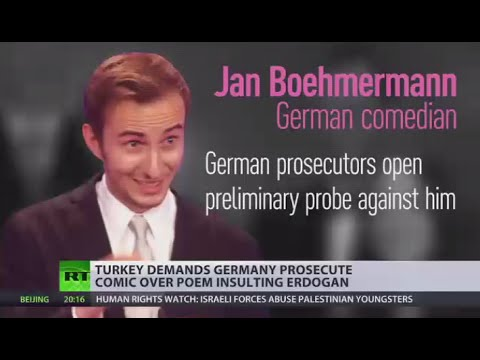 When jokes go bad? Erdogan demands Germany prosecute comedian over satirical poem