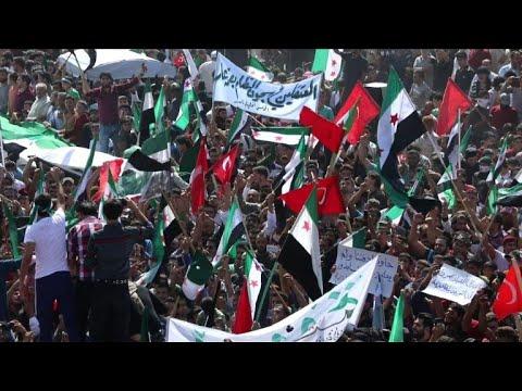 Syrie: manifestation à Idleb contre le régime