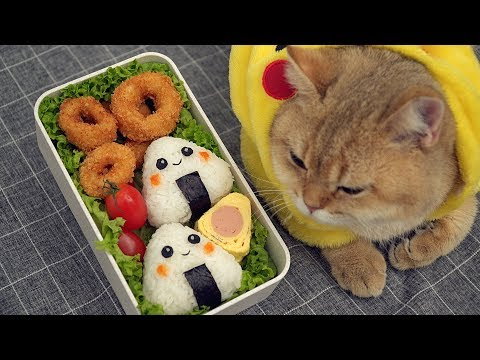 Japanese Lunch Box Fried Squid Bento イカリング弁当 [Ep1]