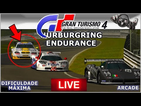 ASTRA na ENDURANCE em NURBURGRING - Gran Turismo 4  AO VIVO G27 thumbnail