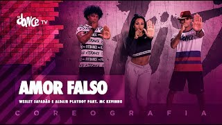 Baixar Amor Falso - Wesley Safadão e Aldair Playboy part. Kevinho | FitDance TV (Coreografia) Dance Video