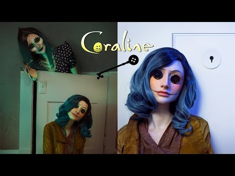 Coraline Makeup Tutorial | @rebeccaseals