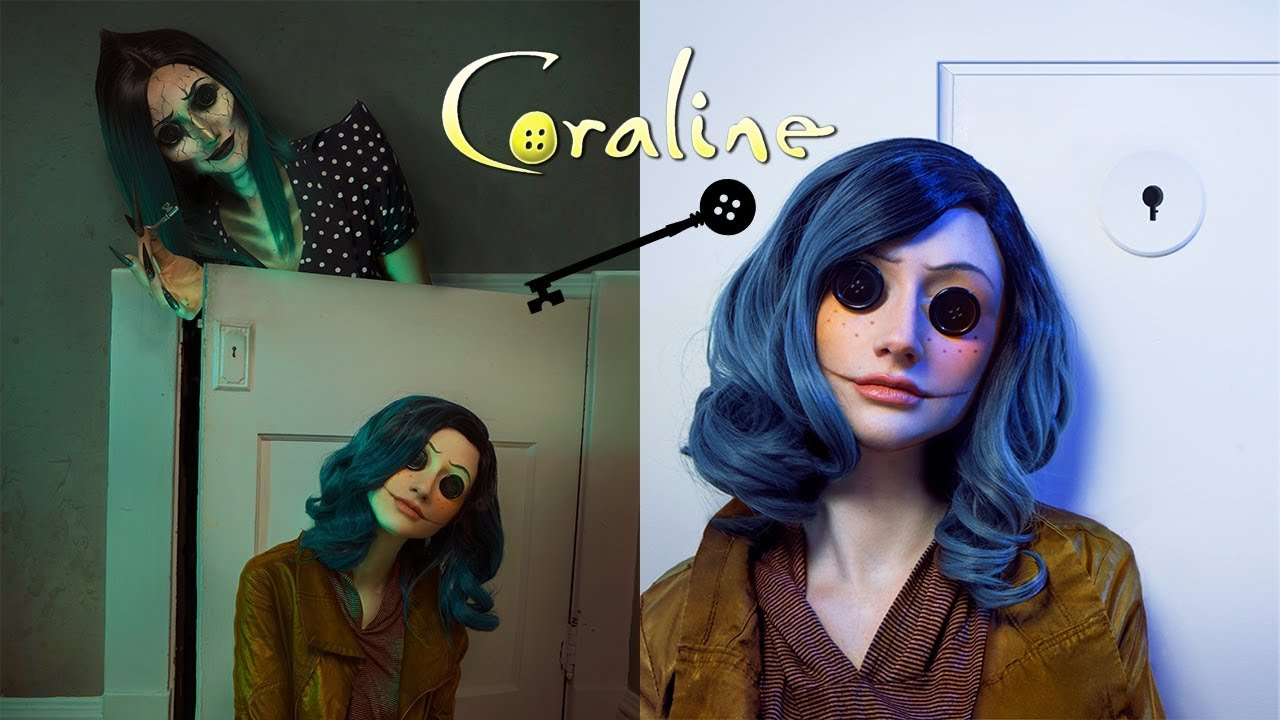 Coraline Makeup Tutorial Rebeccaseals Youtube