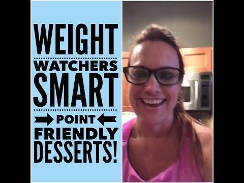 Weight Watchers Smart Point Friendly Desserts: Facebook Live Chat