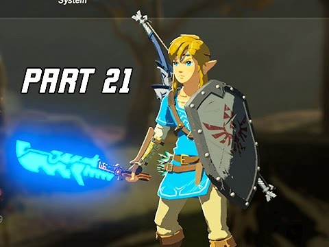 Legend of Zelda Breath of the Wild Walkthrough Part 21  Fireproof Elixer Lets Play