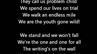Skid Row - Youth Gone Wild Lyrics