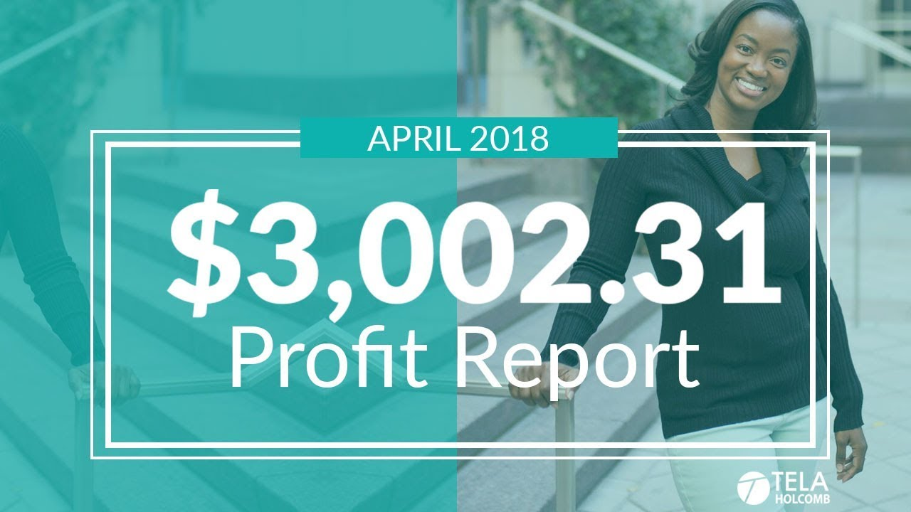 How I Made $3,002.31 Trading the Stock Market | April 2018 Profit Report