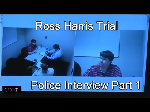 Ross Harris Trial Day 12 Part 3 Harris Police Interview 10/21/16
