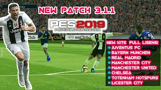 PATCH OBB 3.1.1 PES 2019 MOBILE No Root