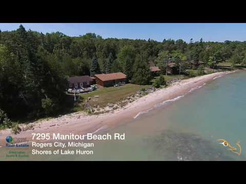 Resort on Lake Huron for Sale, Manitou Shores Resort Rogers City, MI