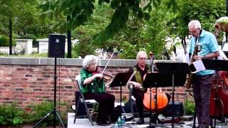 TromBari - Glenn Wilson, Dorothy Martirano & Friends Jazz @ Illinois Shakespeare Festival Courtyard
