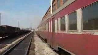 DMU D1-481 in Uzlovaya depot