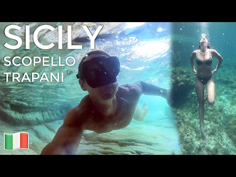 TOP 3 BEST BEACHES IN SICILY! 💦Scopello, Trapani