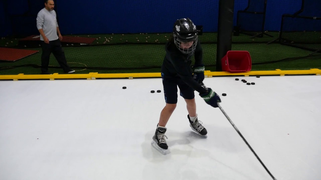 Puck handling at Inflection Point Hockey