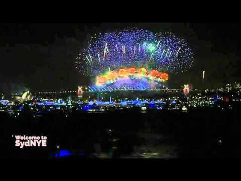 màn pháo hoa tuyệt đẹp đón chào năm mới ở sydney 2016