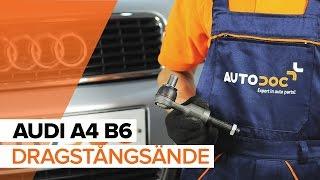 Byta Styrekugle på AUDI A4 (8E2, B6) - videoinstruktioner