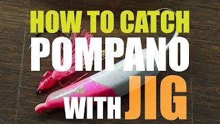 [Fishing Tips #03] How to catch pompano with a JIG