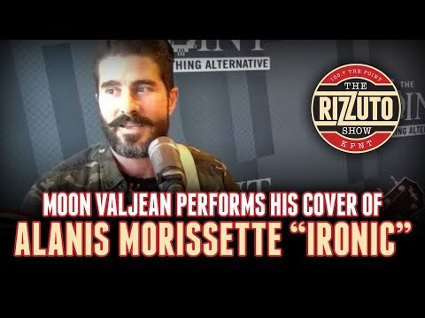Moon Valjean plays Alanis Morissette - IRONIC [Rizzuto Show]