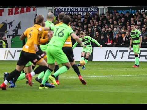 HIGHLIGHTS | Newport County 1 Forest Green Rovers 4