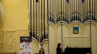 Екатерина Тарасова саксофон альт Концертное танго Калинкович