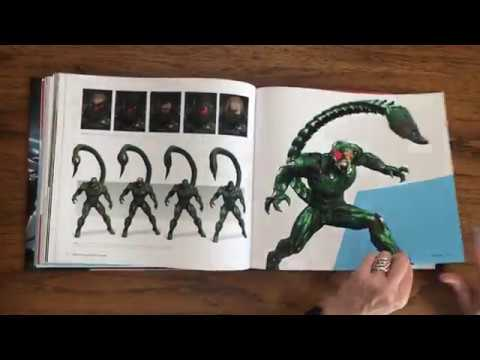 marvel's-spider-man:-the-art-of-the-game-book-flip-through