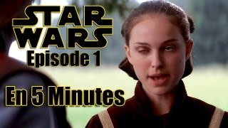 Star Wars : La Menace Fantôme en 5 Minutes