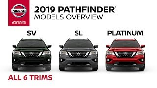 homepage tile video photo for All 2019 Nissan Pathfinder Models Explained