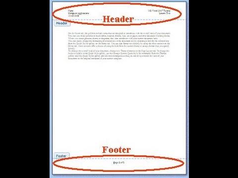 Sửa hoặc xóa header và footer của một trang bất kỳ trong Word