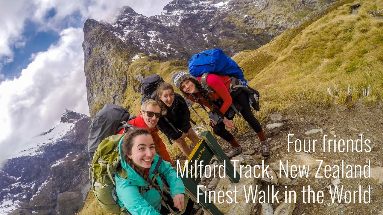 Milford track - New Zealand - YouTube