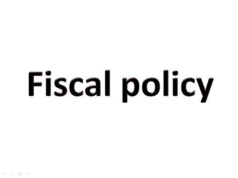 Fiscal Policy (Hindi)