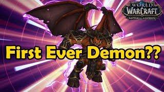 History of the Warlock Pet Doomguard (Vanilla WoW to BFA)