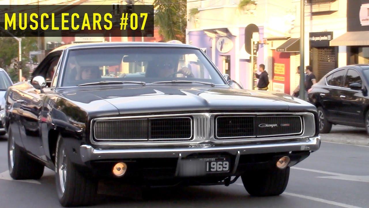 Musclecars 07 Charger Maverick V8 Opala E Outros