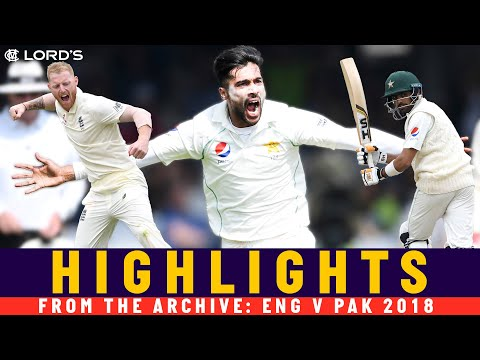 Pakistan Outplay England To Win At Lord's Again! | Classic M