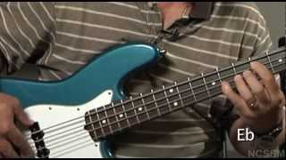 Bass For Jazz Ensemble, Lesson 8: Finding Roots And 5ths (1/4 Note Pattern)