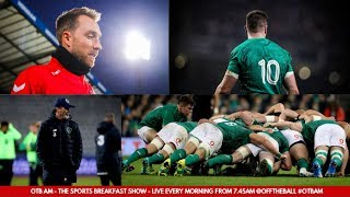 LIVE: Irish Rugby double-down, New Zealand reaction, Nathan in Denmark, GAA Drama | Monday's #OTBAM