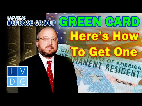 How to Get a Green Card or Permanent Resident Card in Nevada?