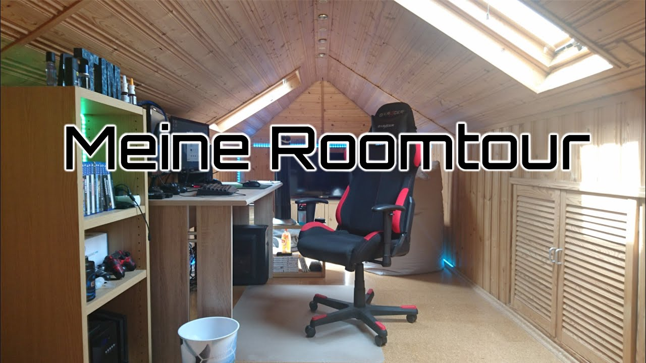 Meine Roomtour Gaming Zimmer Youtube