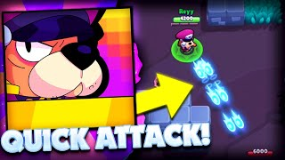 (Hidden Mechanic) Quick Attack Auto Aim? - Colonel Ruff New Brawler Sneak Peek In Brawl Stars!