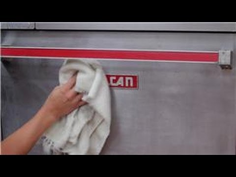 Appliance Cleaning : How to Clean a Stainless Steel Stove