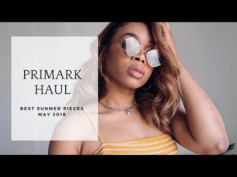 HUGE SUMMER PRIMARK HAUL | MAY 2018