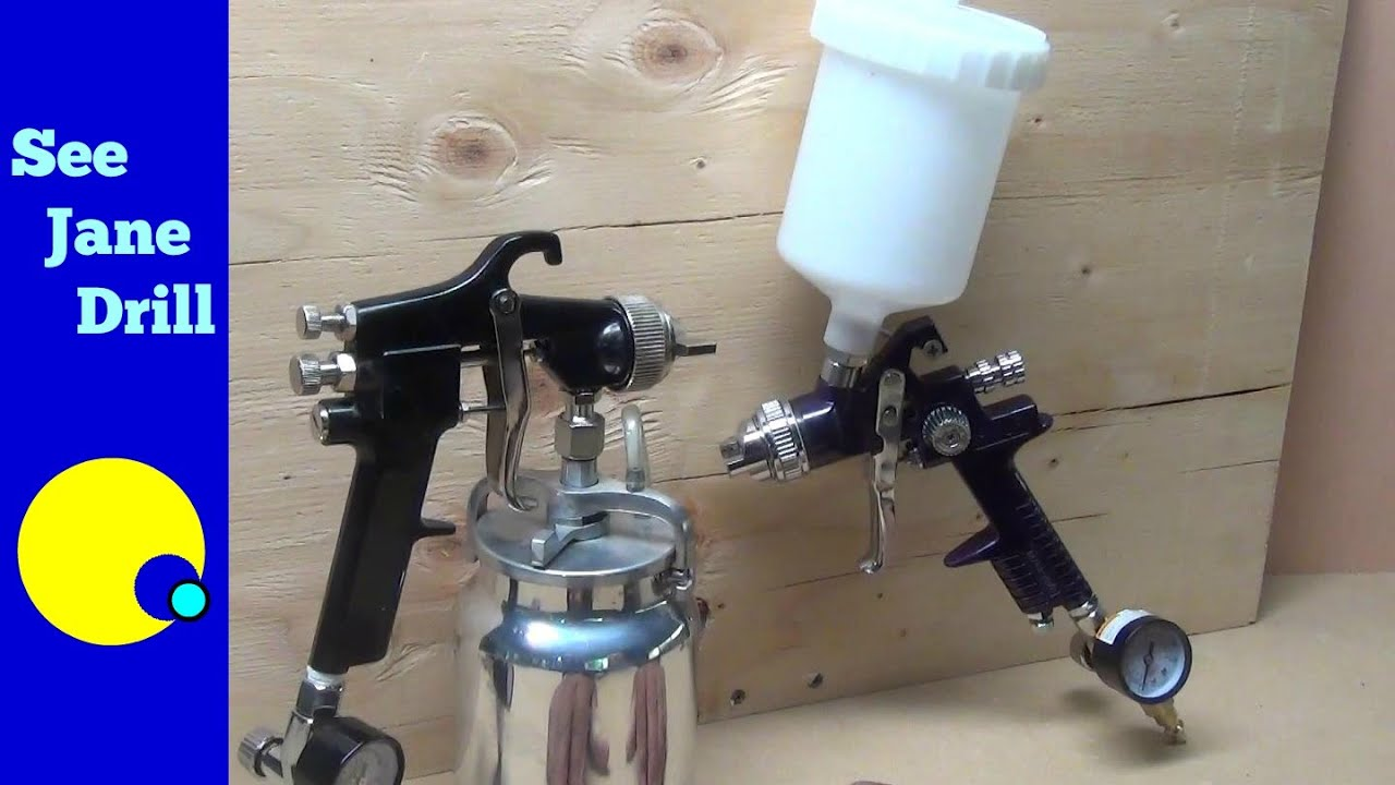 Hvlp primer spray gun with 2. 0 nozzle/tip/regulator.
