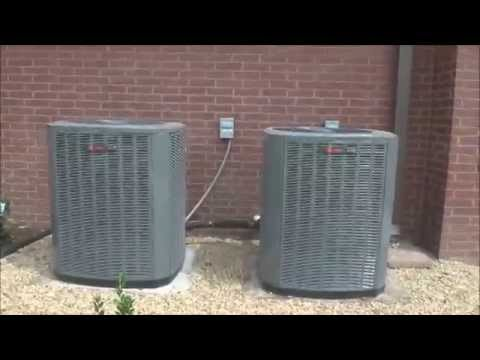 2 2014 Trane Xr17 16 Seer Air Conditioners 1 Samsung Ductless Unit